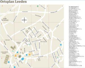 Ortsplan Leeden