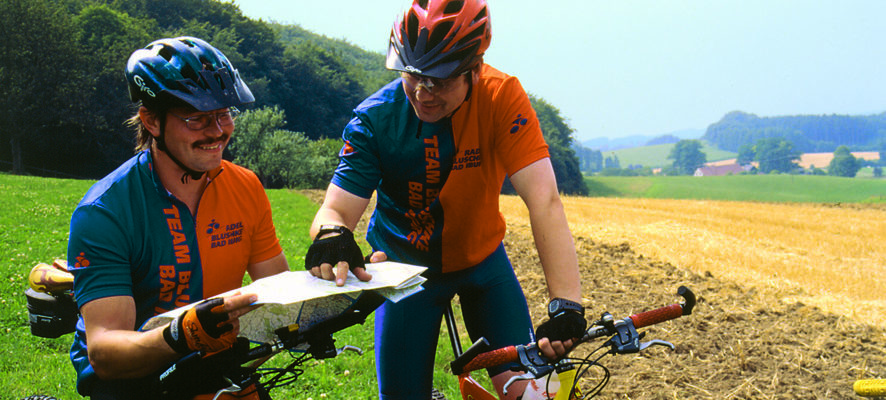 Radfahrer_Treckrad