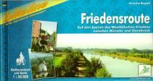 Friedensroute – Radtourenbuch und Karte