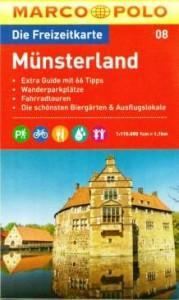 Freizeitkarte Muensterland