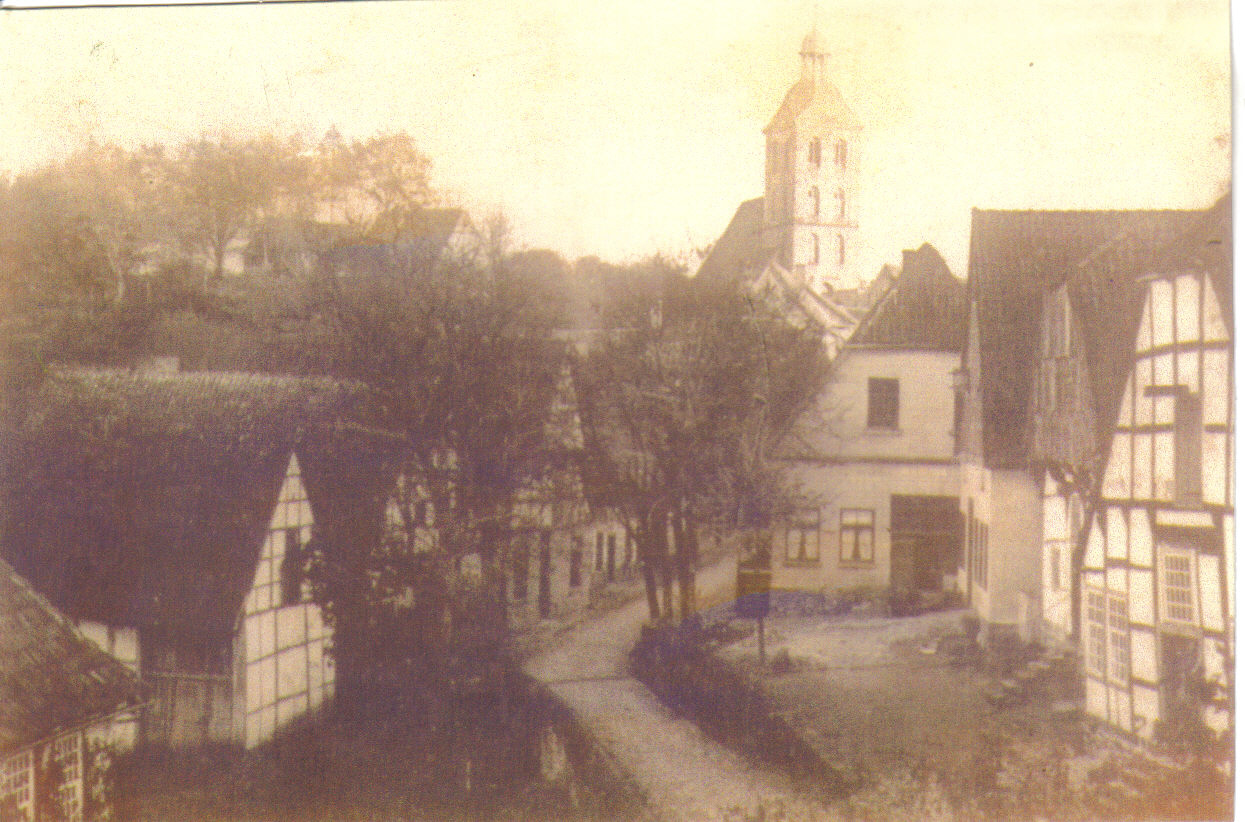 Armenhaus um 1911
