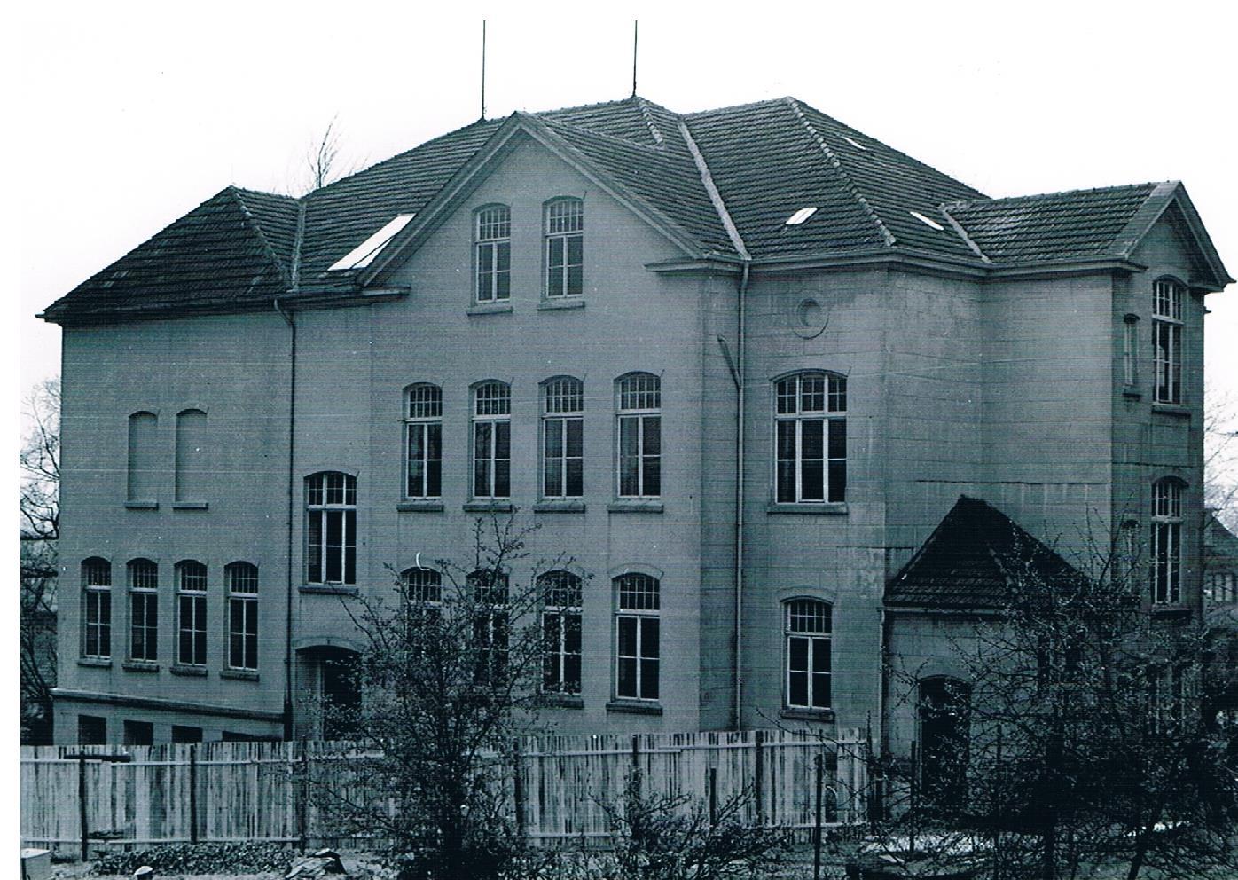 Aufbauschule um 1950